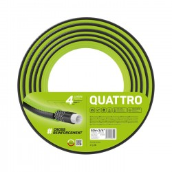 """Wąż ogrodowy Quattro 3/4"""" 50m"""