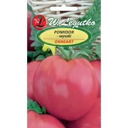 Pomidor wysoki - Oxheart (Malinowy Bawole Serce) - 0,2g