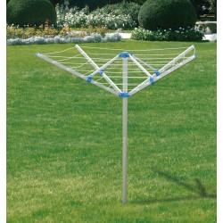 Aluminiowa suszarka ogrod rozpięt 195cm