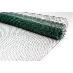 Siatka heksagonalna PVC 25/0,9mm - 1x10m