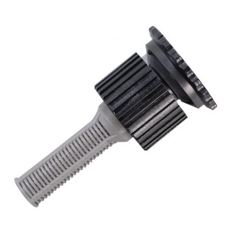 Dysza statyczna 15A 45-360 45m czarna z filtrem 2 szt.