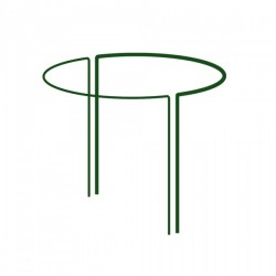 Podpora pierścieniowa do roślin 40x70cm - 1/2 koła