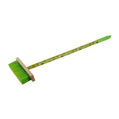 Miotełka JUNIOR dł 75cm z drewnianym trzonkiem