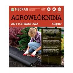 Agrowłóknina 60g/m2 antychwastowa 1,6x100m czarna