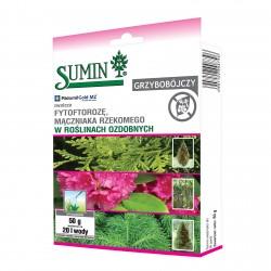 RIDOMIL GOLD MZ PEPITE 67,8 WG zwalcza fytoftorozę i mączniaka w roślinach ozdobnych 50 g