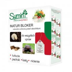 NATUR BLOKER na pędraki, krety, turkucie - 1kg SUMIN