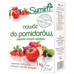 Nawóz do pomidorów, papryki i innych warzyw - 1kg SUMIN
