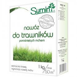 Nawóz do trawników porośniętych mchem - 1kg SUMIN