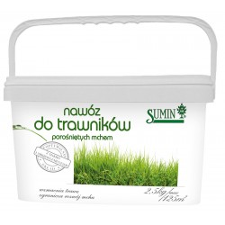 Nawóz do trawników porośniętych mchem - 2,5kg SUMIN