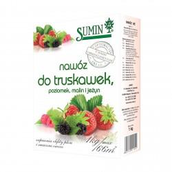 Nawóz do truskawek, poziomek, malin i jeżyn - 1kg SUMIN