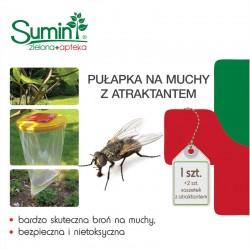 Pułapka na muchy z atraktantem - 1szt. SUMIN