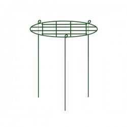 Podpora pierścieniowa do roślin 40x60cm siatkowa