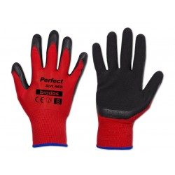Rękawice ochronne PERFECT SOFT RED rozmiar 9 lateks