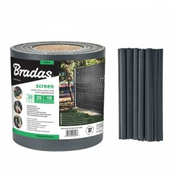 Taśma ogrodzeniowa 450g/m2 - 19cm x 35m