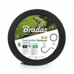 Obrzeże trawnikowe EASY BORDER SET 55mm grafit