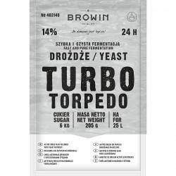 Drożdże gorzelnicze Turbo Torpedo 24h - 205g