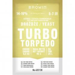 Drożdże gorzelnicze Turbo Torpedo 5-7 dni - 95g
