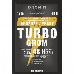 Drożdże gorzelnicze Turbo Grom 48h - 150g