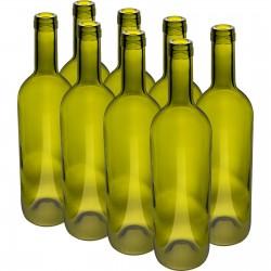 Butelka Oliwkowa na wino 0,75L - 8szt.