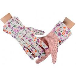 Rękawice ogrodowe dla kobiet, kolorowe