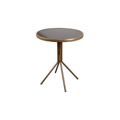 Stół balkonowy brązowy