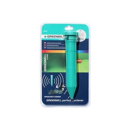 Odstraszacz kretów zasilany bateryjnie - zasięg 500m2, 4 baterie R20