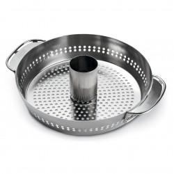Gourment BBQ System - wkład stojak do kurczaka, bez rusztu