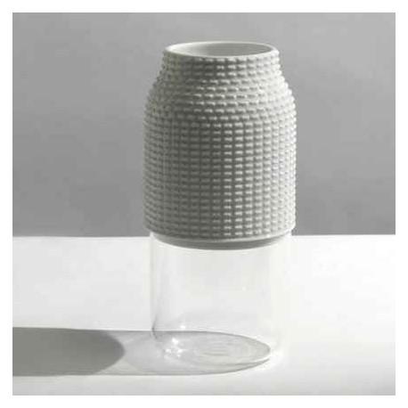 Wazon biały chapeaux pour vase 3