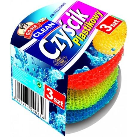 Gosia czyścik plastikowy 3szt.