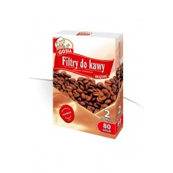 Gosia Filtry do kawy 2 kartonik/80szt.