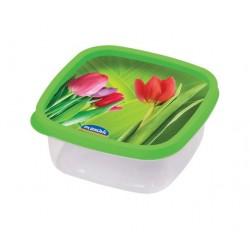 Pojemnik do żywności DECORA kwadrat 0,58L