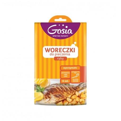 Gosia Woreczki do pieczenia ryby 6 szt.
