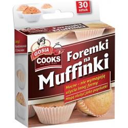 Foremki na muffinki 30szt.