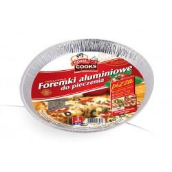 Foremki aluminiowe do pizzy 3szt.