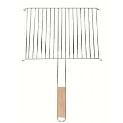 Ruszt grillowy prostokątny 40cm x 30cm