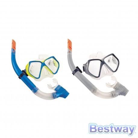 Zestaw do pływania (maska + rurka) +14