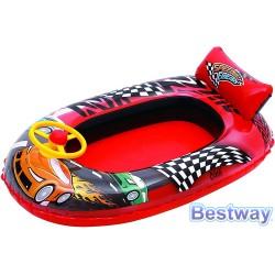 Ponton do pływania dla dzieci AUTO 102x69cm