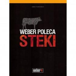 "Weber ksiażka: ""Weber poleca: steki"""