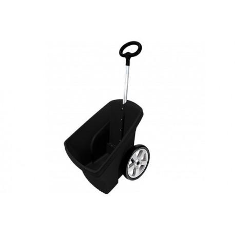 Wózek ogrodowy czarny