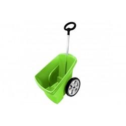 Wózek ogrodowy zielony 67L