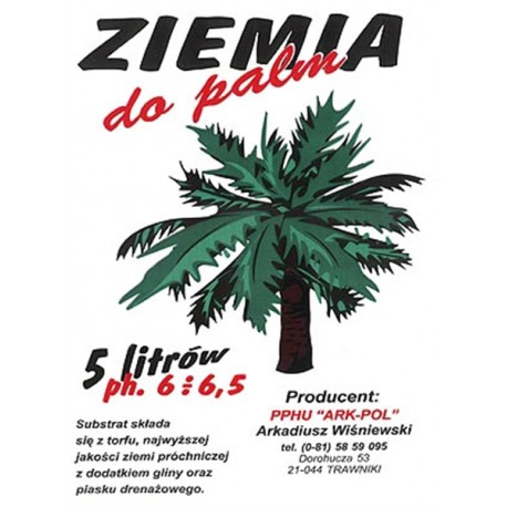 Ziemia do palm 5L
