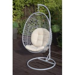 Fotel wiszący ogrodowy