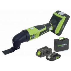 24V MultiTool Zestaw 1x2ah Bateria i Ładowarka
