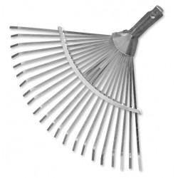 Grabie wachlarzowe metalowe, regulowane bez trzonka