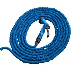 Zestaw ogrodowy TRICK HOSE 5m - 15m (niebieski)