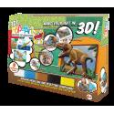 Obrazki 3D - 3 Dinozaury