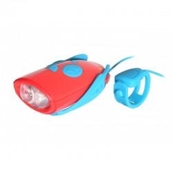 Światełko i dzwonek na rower/hulajnogę LED 25 dźwięków